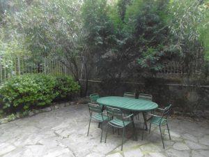 giardino terrazzato....